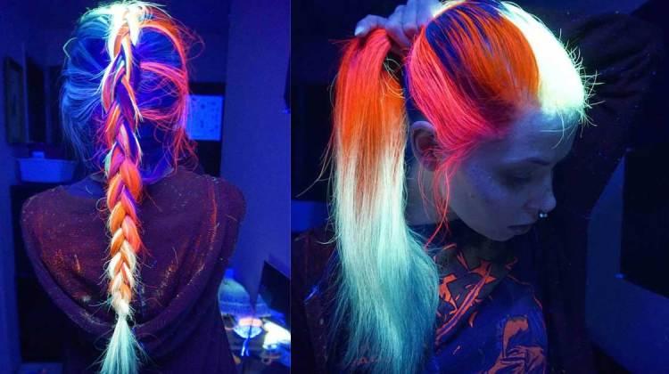 glow in the dark haarfarbe