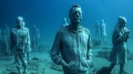 museo atlantico unterwassermuseum jason decaires taylor