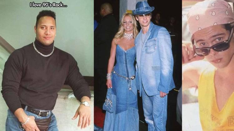 90er fashion stars brad pitt