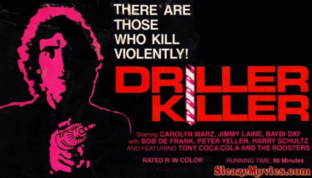 The Driller Killer (1979) watch online