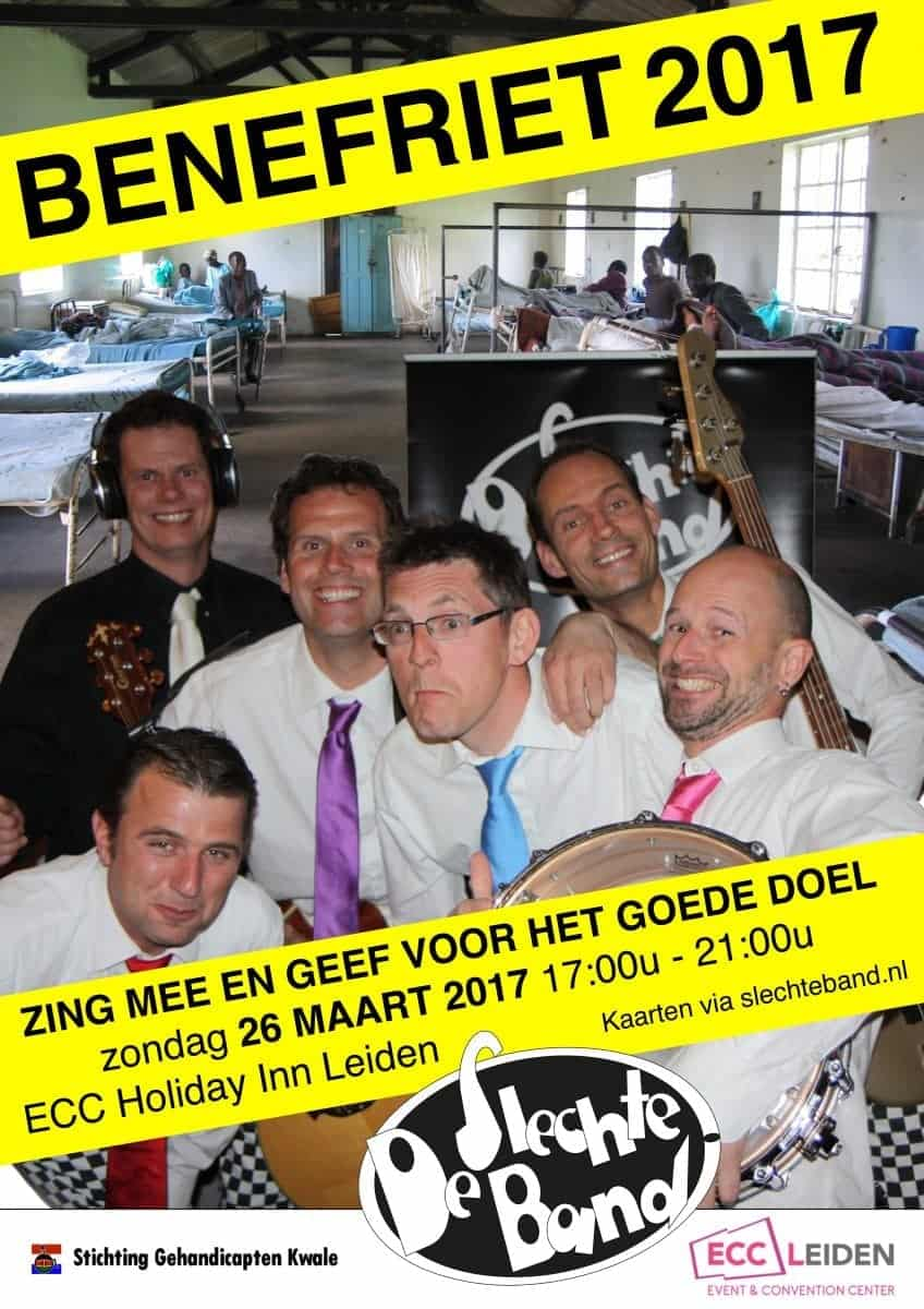 Kom naar de Benefriet 2017 op zondag 26 maart 2017