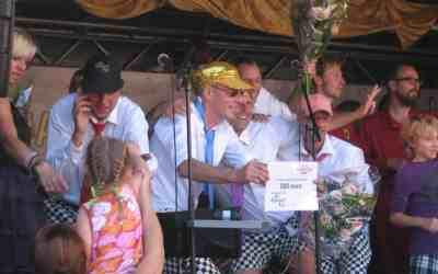 Slechte Band na 8 jaar weer bij straatmuzikantenconcours de Gouden Pet
