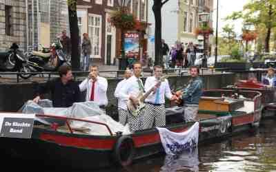We mogen weer! 5 september op de muziekboot in Leiden