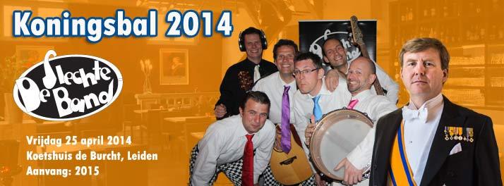 Koningsbal 2014 met de Slechte Band in Koetshuis