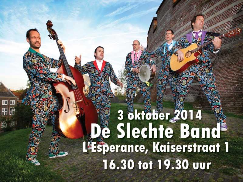 3 oktober 2014 – De Slechte Band bij l'Esperance