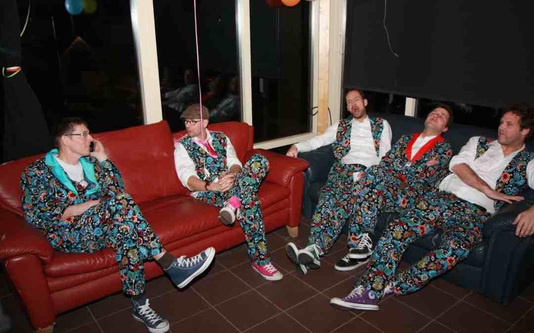 Slechte Band als trio tijdens Nedernacht