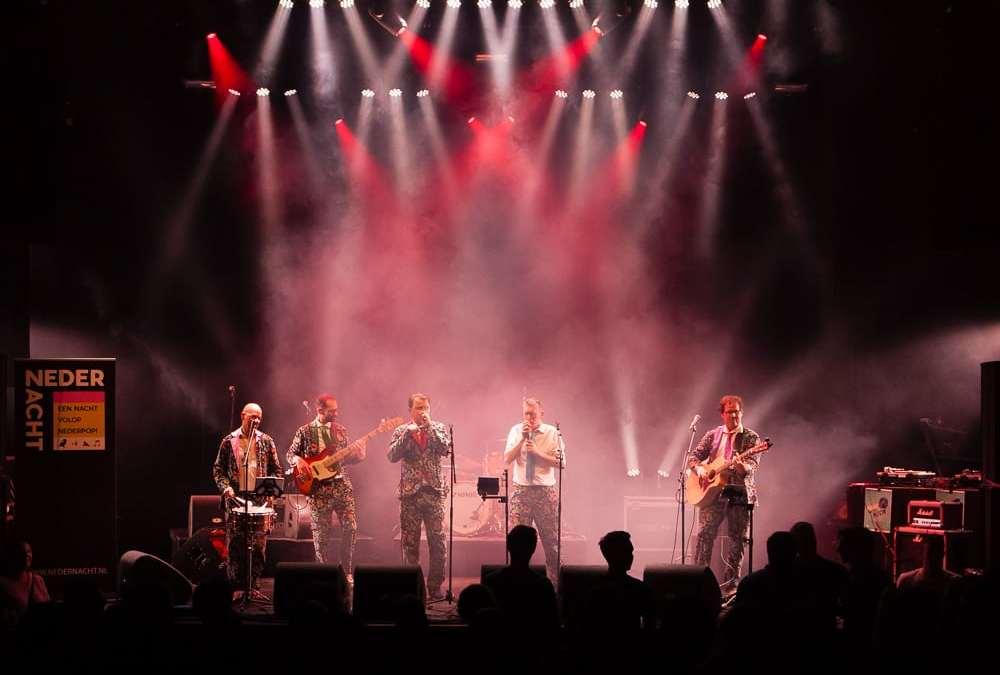 Debuut op hoofdpodium Gebr. de Nobel voor de Slechte Band uit Leiden