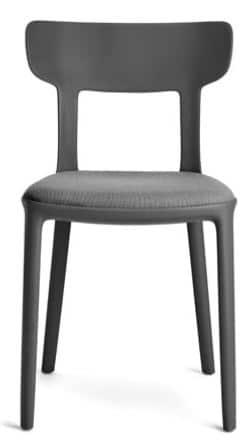 chaise restaurant design anthracite