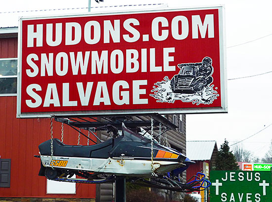 Hudons Sled Salvage