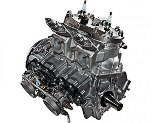 Arctic Cat C-Tech2 600 engine