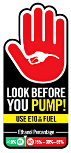 Look Before You Pump logo