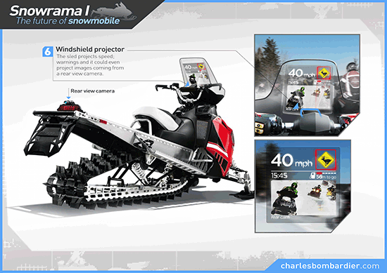 snowmobile-windshield-projector