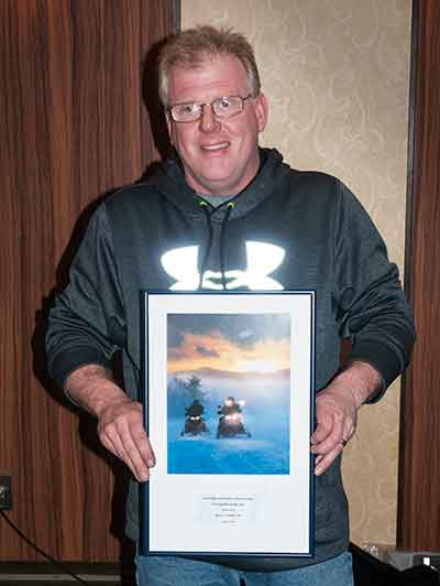 Rusty Coombs 2016 Snowmobiler of the Year
