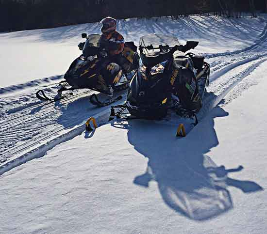 Snowmobile Trails Open