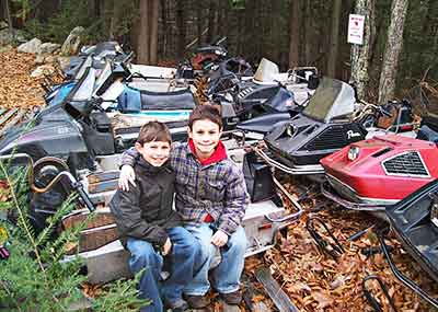 Arctic Cat junk yard