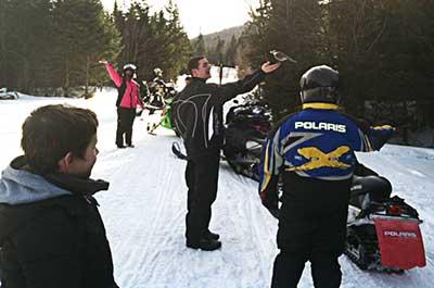 Morrin Family Mill Valley Snowmobile Club