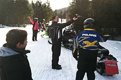 Morrin Family Mill Valley Snowmobile Club