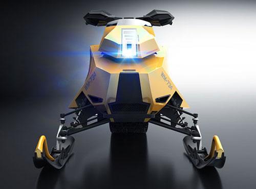 Wemotaci Hydrogen Snowmobile Concept