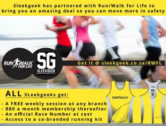 Run/Walk for Life special deal for Sleekgeeks!