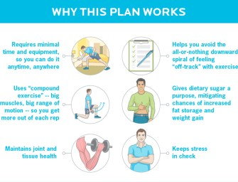 How to stay fit and in shape when you are short on time [Infographic]