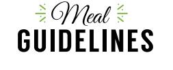 Sleekgeek REBOOT Success Guide Meal Guidelines