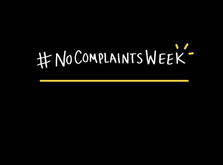 Greatist No Complaints Week