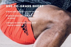 Adidas Technical Range - Ass to Grass Short