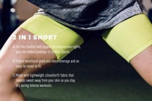 Adidas Technical Range - 2 in 1 Short