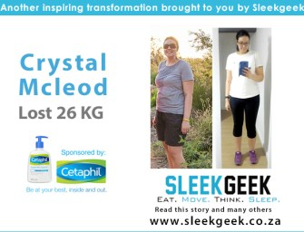 Crystal Lost 26kg By Simply Getting Healthy