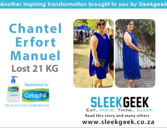 From Super Large to Super Woman! Chantel Shares How She Lost 21kg.