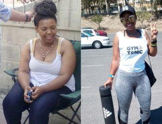 Emiline Miller loses 40kgs and finds her shine