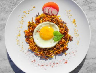 [Recipe] Sweet Potato and Butternut Rosti Egg Nest