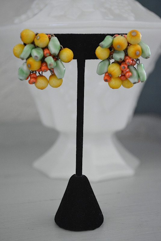 Accessocraft Earrings, VIntage Earrings, Accessocraft Jewelry, Accessocraft