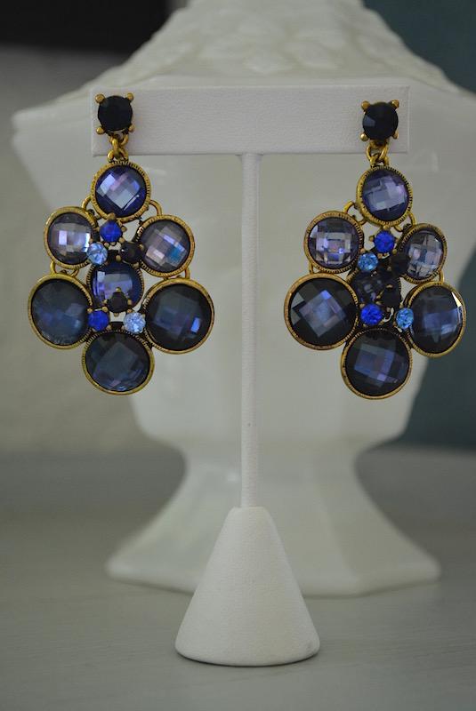 Amethyst Ombre Earrings, Purple Jewelry, Amethyst Jewelry