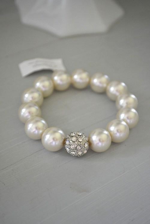 Oyster Pearl Bracelet, Pearl Bracelet