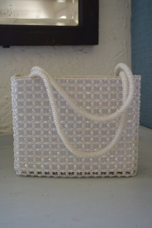 Crystal Beaded Purse, La Regale Purse, Beaded Purse, Vintage Purse, La Regale