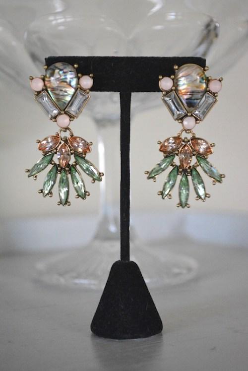 Marquis Rhinestone Earrings, Rhinestone Earrings