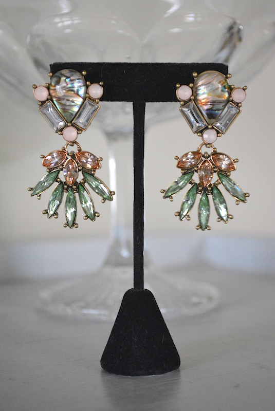 Marquis Rhinestone Earrings, Rhinestone Earrings