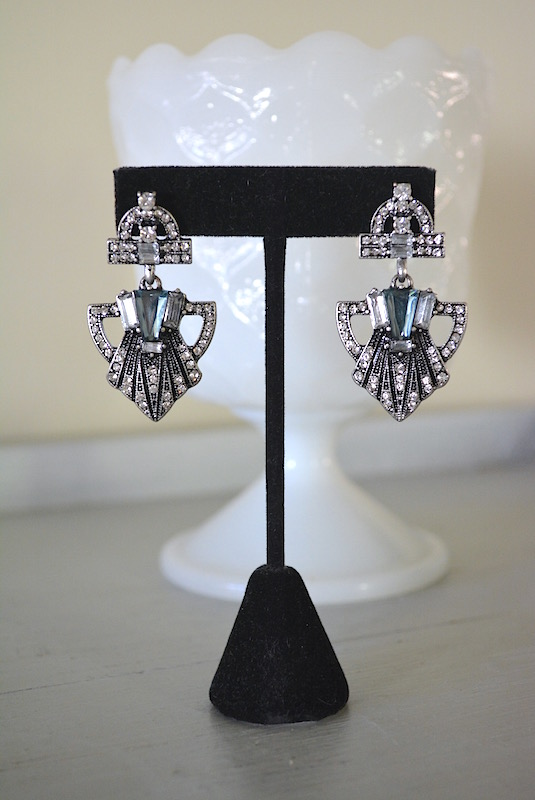 Art Deco Earrings, Flapper Earrings, 1920s Jewelry