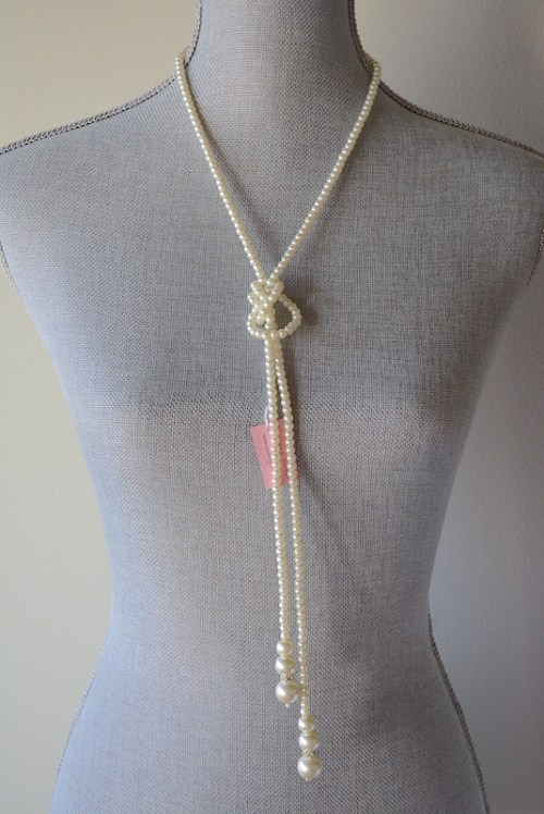 Long Pearl Lariat, Long Pearl Necklace, Pearl Lariat Necklace, Pearl Belt