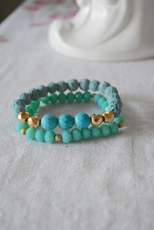 Two Turquoise Bracelets, Turquoise Bracelets, Turquoise Bracelet, Turquoise Jewelry, Green Bracelets, Turquoise