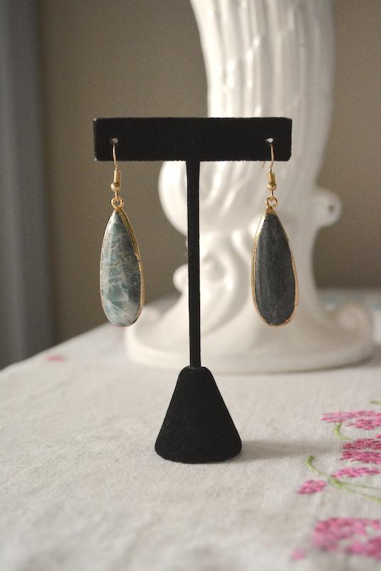 Jade Teardrop Earrings, Jade Earrings, Green Earrings, Olive Green Earrings, Green Teardrop Earrings, Gemstone Earrings, Jade Jewelry