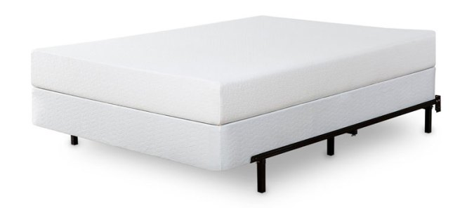 Image Showing Boxspring With A Mattress On Top Of It