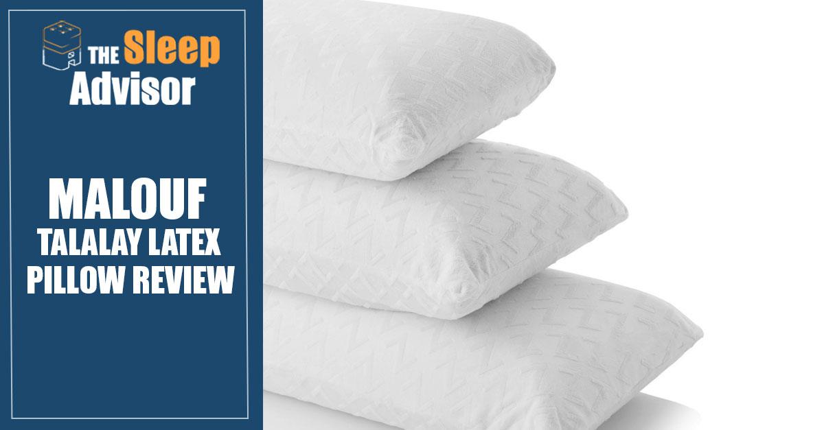malouf talalay latex pillow review