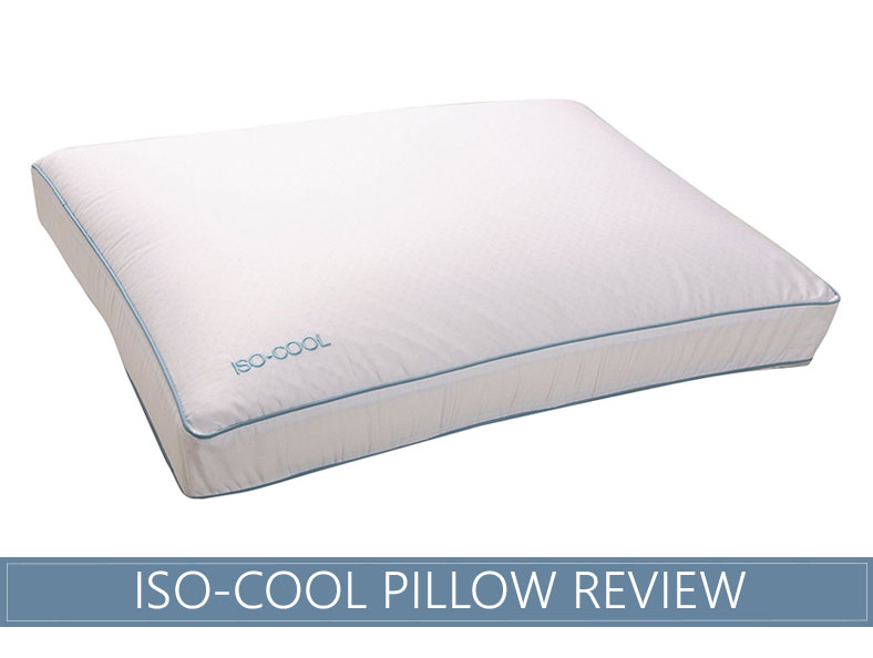 our iso cool memory foam pillow by