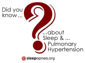 pulmonary hypertension sleep apnea