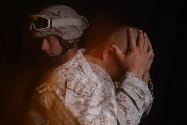 veterans can't sleep suicide PTSD combat fatigue asaa