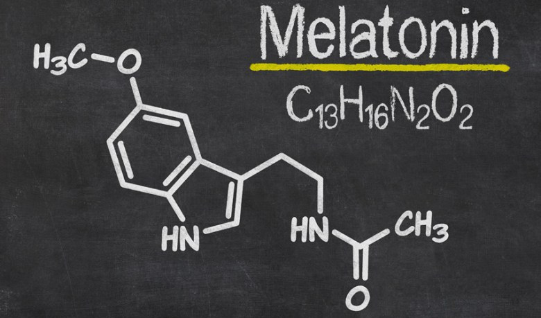 Melatonin chemical formula