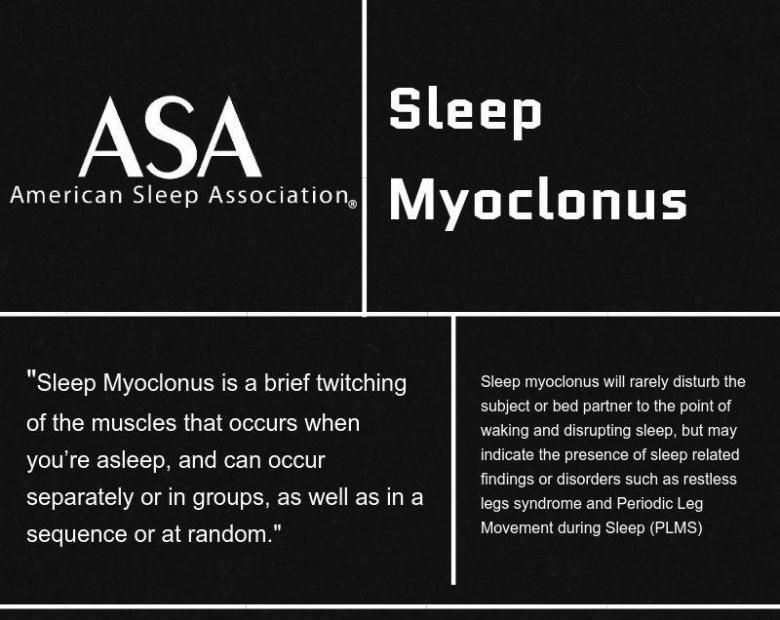What is sleep myoclonus