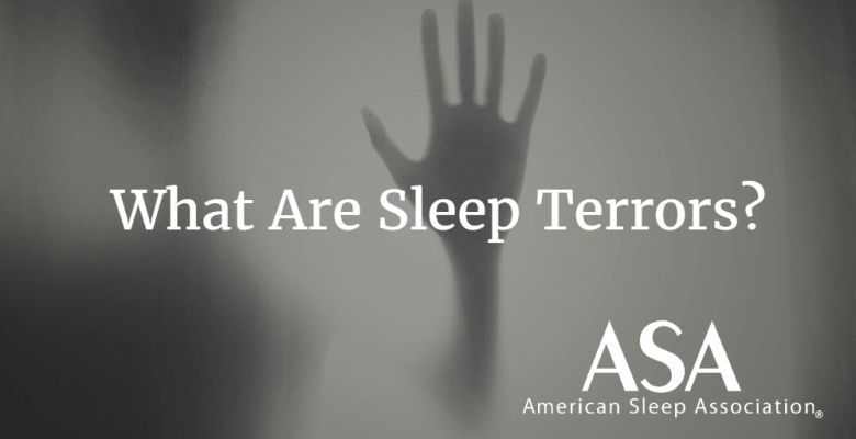 What are sleep terrors?